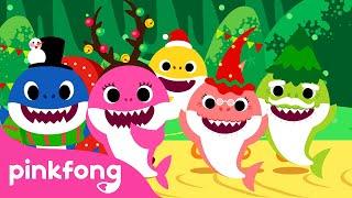 Natal Sharks | Christmas Carols | Canções Pinkfong para Crianças