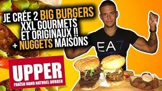 Je Crée 2 BIG BURGERS XXL GOURMETS et ORIGINAUX !! + NUGGETS MAISONS (#4 Food Tour Bordeaux)