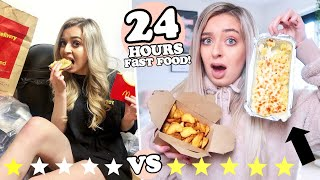 24 HOURS eating ONLY fast food! BEST and WORST takeaways in my AREA!