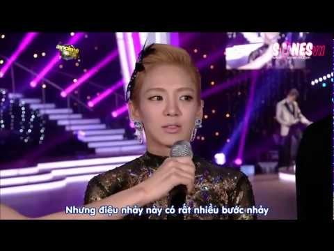 [SONESvn subs] Dancing With The Stars ep 1 - Hyoyeon cut [04.05.12]