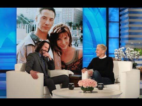 Keanu Reeves Had a Crush on 'Speed' Co-Star Sandra Bullock