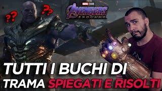 Avengers - Endgame: Tutti i buchi di trama SPIEGATI e RISOLTI!! [SPOILER]