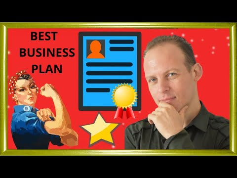 How to write a business plan: free business plan template. Simple outline with 20 planning tips