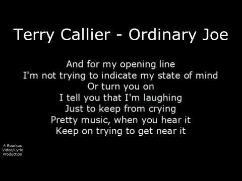 Northern Soul - Terry Callier - Ordinary Joe - With Lyrics