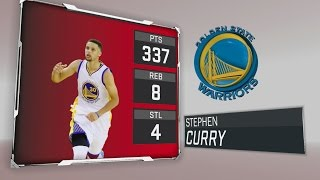 Can Stephen Curry Make 100 Threes in ONE GAME!!! Over 300 Points Scored!! NBA2k Challenge