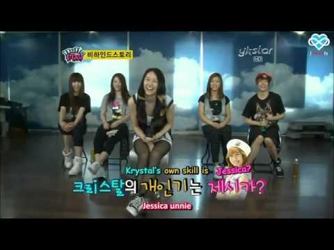 f(x) Krystal imitating her older sister SNSD Jessica