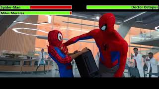 Spider-Man & Miles Morales vs. Doctor Octopus with healthbars (30K Subscriber Special)