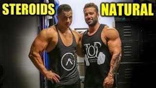 Doing A Bodybuilding Show NATURALLY vs ENHANCED