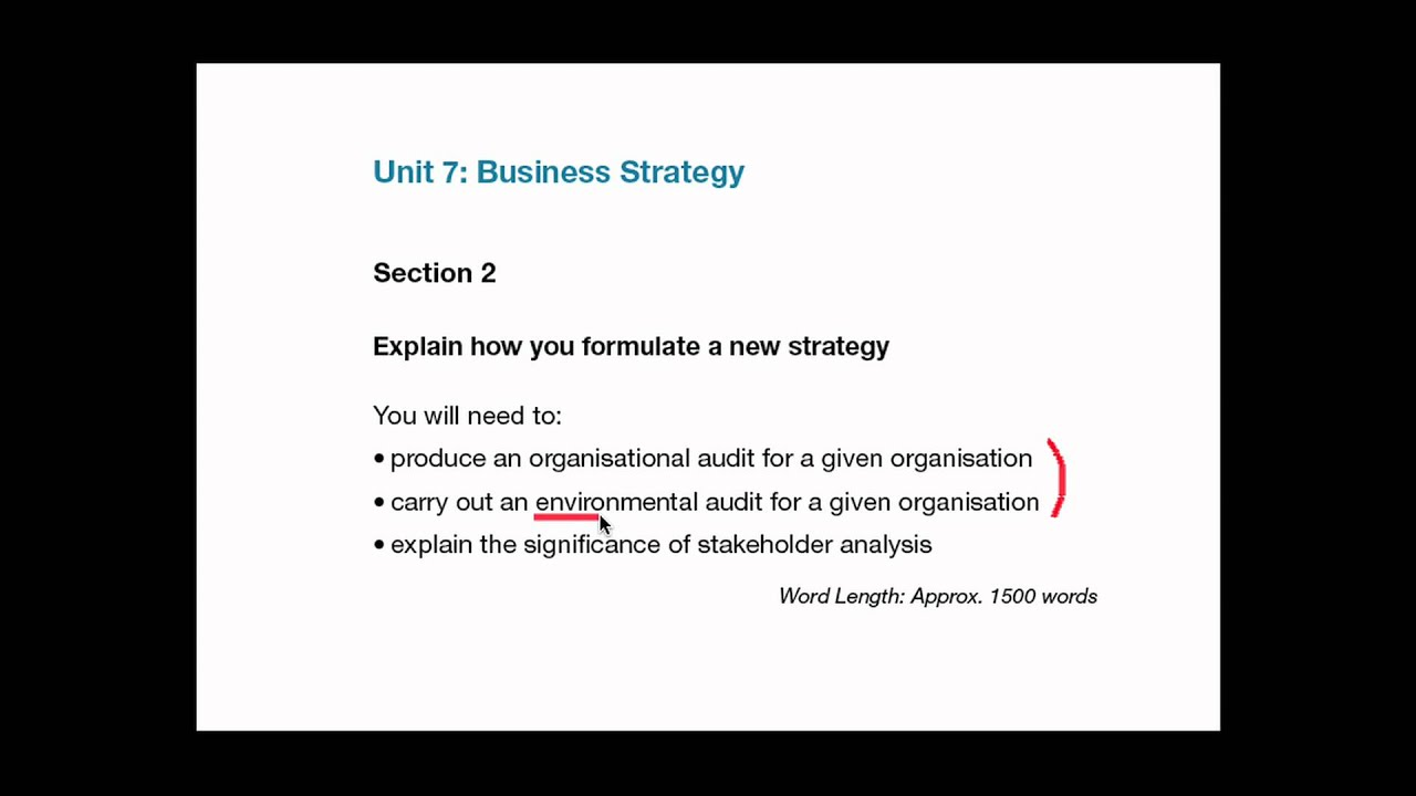 Unit 7 Business Strategy Assignment Sample - Tesco
