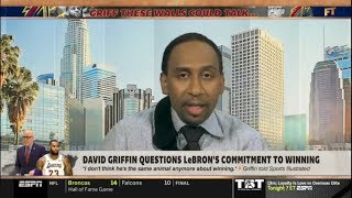 Stephen A. Smith explain Why LeBron James is the most difficult superstar in the NBA