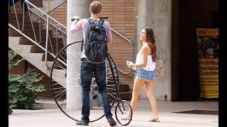 Giant Bike Prank!!