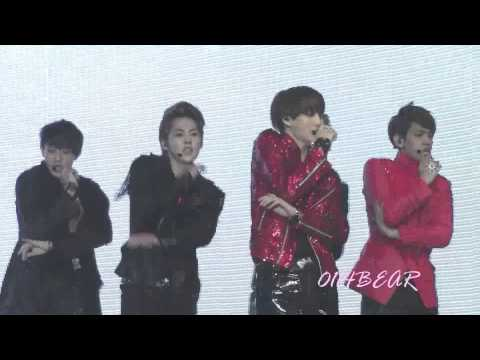 [FANCAM] 121130 MAMA EXO Mirotic Performance (KAI focus)