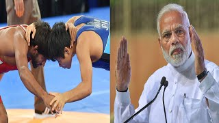 PM Modi hails Bajrang Punia for dedicating his gold medal to Atal Vajpayee | OneIndia News