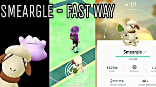 Pokemon Go - how to get smeargle in a faster way