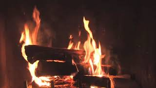 Fireplace with Christmas and Relaxing Piano Music (3 hours)