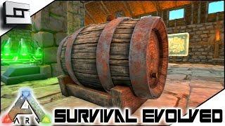 ARK: Survival Evolved - BEER BARRELS! S3E76 ( Gameplay )