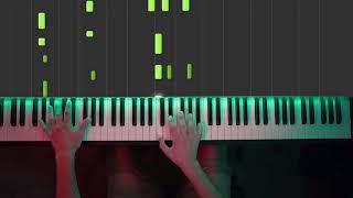 For The Damaged Coda - Rick & Evil Morty (Piano Cover) [hard]
