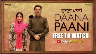 Daana Paani Full Movie (HD) | Jimmy Sheirgill | Simi Chahal | Superhit Punjabi Movies