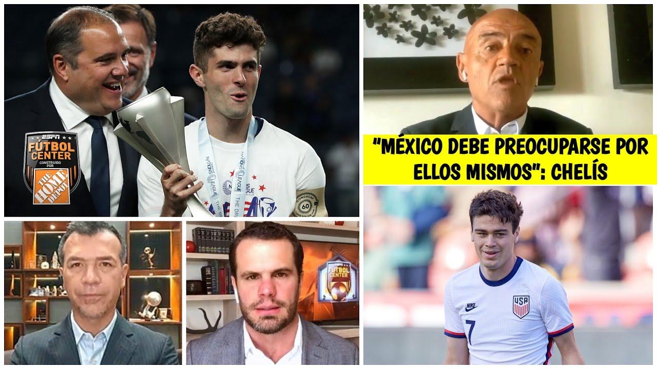 PULISIC y REYNA no deben preocupar a Selección Mexicana de Fútbol: Chelis, radical | Futbol Center