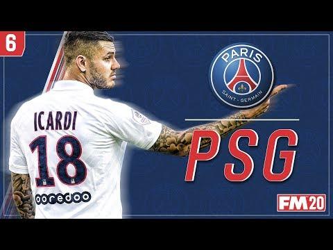 ICARDI'S THE MAN! FOOTBALL MANAGER 2020 - Paris Saint-Germain #6