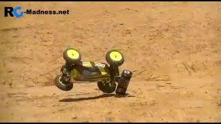 Losi Mini 8ight: Testing on Dirt, 2S LiPo, Uncut
