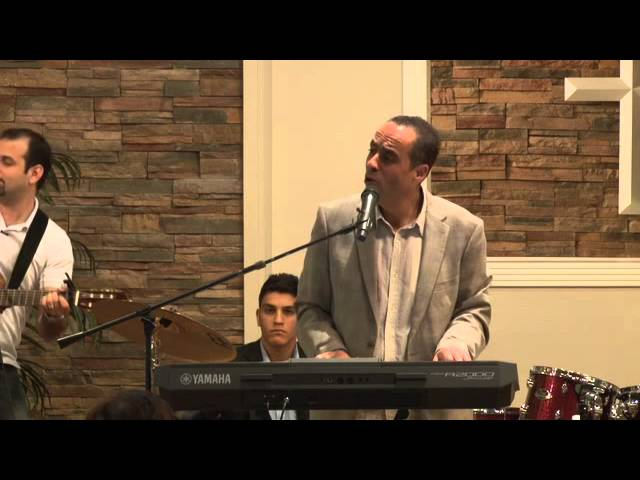 Brother Mazin Batarseh at Living Word Arabic Church
