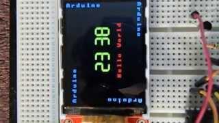 ILI9341 With Arduino Nano - Prasad De zoysa