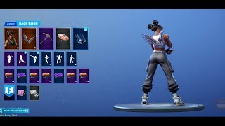 High caliber back bling looks amazing with white Luxe!