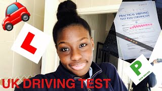 MY DRIVING TEST EXPERIENCE || HOW I PASSED 1ST TIME🎉
