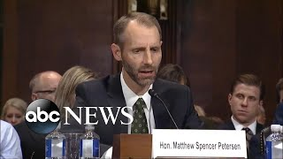 Federal judge nominee Matthew Peterson struggles under questioning