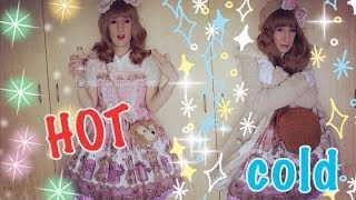 Lolita Fashion in EXTREME Weather