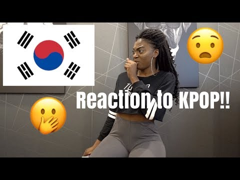 FIRST REACTION TO KPOP !!