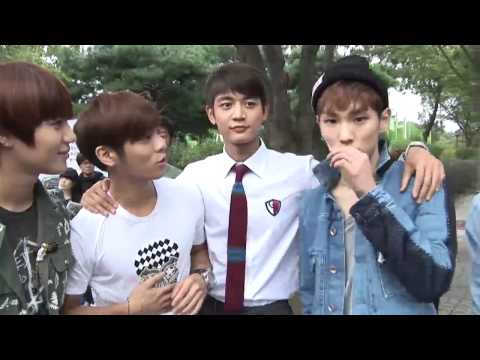 [120928] SHINee Visits Minho On The Set Of 'For You In Full Blossom'