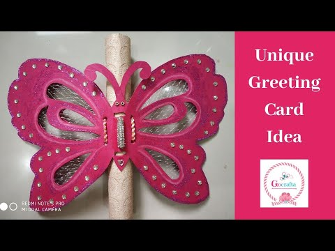 Handmade Birthday Card Ideas - How to Make Special Butterfly Card