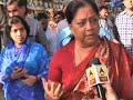 Rashtra Nirman and Ekta, the biggest issue: Vasundhara Raje