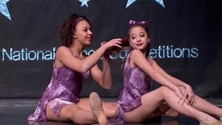 "Dance Moms - Mackenzie and Nia's Duet ""The Little Girl Down the Lane"""