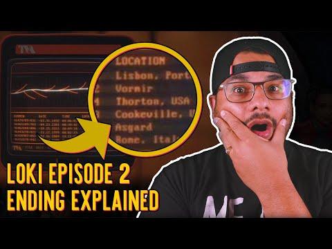 Loki Episode 2: Ending Explained   Geek Culture Explained