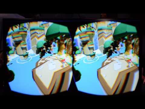 E3 2014: Lucky's Tale Gameplay on Oculus Rift DK2