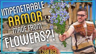 Homemade Armor Using FLOWERS? (Totally Impenetrable!)