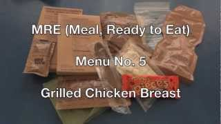 MRE Review: Menu No. 5 Grilled Chicken Breast