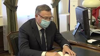 Александр Бурков встретился с новым председателем Омского областного суда