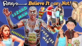 SCARING STRANGERS in TEXAS! Ripley's Believe It or Not! Scare Cam! FUNnel V Fam TX Trip Part 2