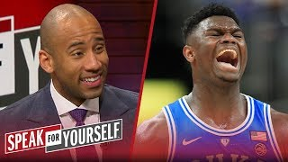 Dahntay Jones says Zion shouldn't sit out until the NBA Draft & Kyrie's apology | SPEAK FOR YOURSELF