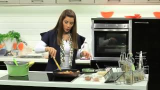 بطاطس بالتوابل - دجاج تباسكو - سلطة ماكسيكي - أميرة شنب - افطار رمضان