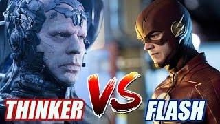 ¿CÓMO PODRÍA FLASH VENCER A THINKER? - Comparación The Flash Vs The Thinker