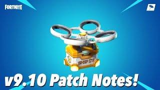 v9.10 Patch Notes! (FORTNITE)