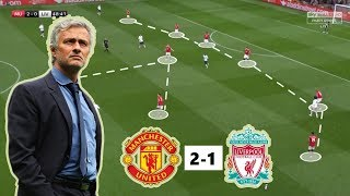 Manchester United vs Liverpool 2-1 | Tactical Analysis