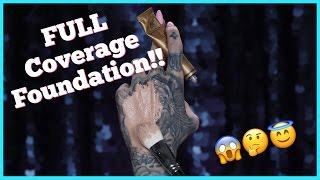 TESTING THE WORLD'S MOST FULL COVERAGE FOUNDATION! | Jeffree Star