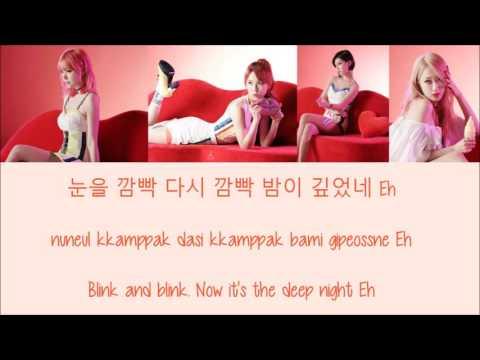 9MUSES A - Lip 2 Lip [Hang, Rom & Eng Lyrics]
