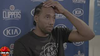 Kawhi Leonard Reacts To The Clippers Loss To LeBron & The Lakers. HoopJab NBA